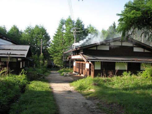 今の様子(2008年)下紙屋は平成12年に焼失の後に再建されている